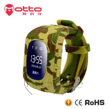 new color Q50 gps tracker kids cell phone watch with sos gps