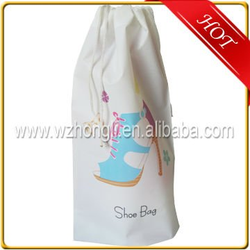 High Quality Printing Polyester Pouch Custom Drawstring Bag with Logo