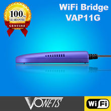 Original VONETS VAP11G 2.4Ghz lan to wireless adapter