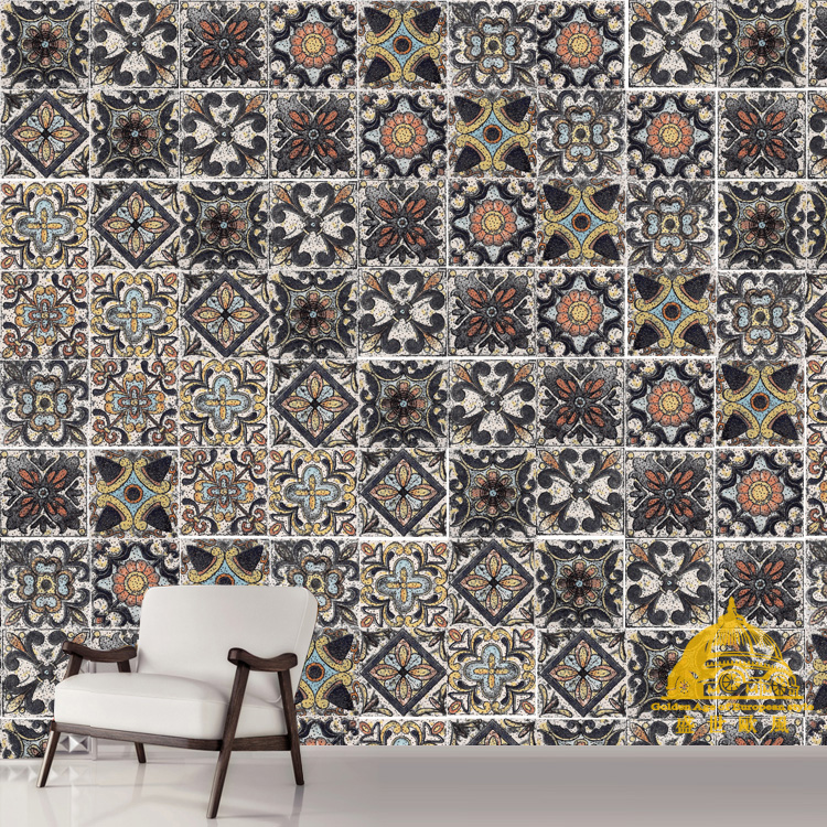 53x53/rustic /vintage / Arab Turkish Persian style /Decoration Pattern tile