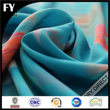 new style Digital printed 100 polyester peach skin textiles fabric
