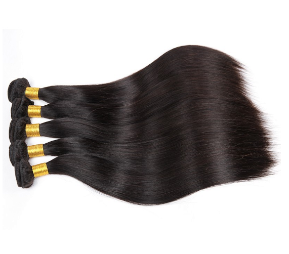 Raw Unprocessed 100% Virgin Remy Hair Brazilian Human Hair Weaving Silky Straight 18 20 22 Inch Hair Extension