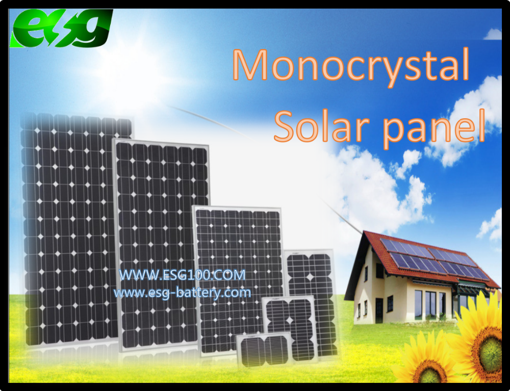 transparent solar panel Mono 300W solar panel mounting