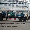 600m Trailer Mounted Water Well Drilling