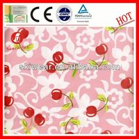 super soft waterproof polyester rayon spandex fabric