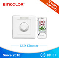 12v to 48v Smart rotary led dimmer IR remote LED dimming Switch