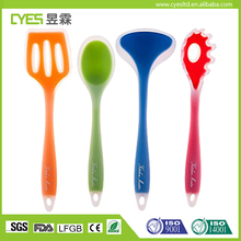 Free Sample Kitchen Tools Stainless Steel Silicone Cooking Utensil Set