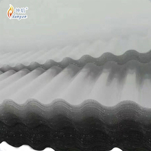 High light transmission polycarbonate white corrugated plastic sheet