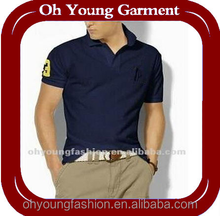 Brand name clothes, cheap price polo shirts for men