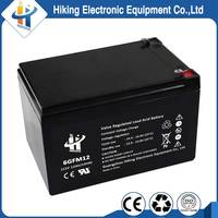 High Standard 12v 12ah storage battery used ups sealed lead acid battery