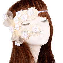 New Products Colorful Flower Venetian Masquerade Half Face Ugly Masks