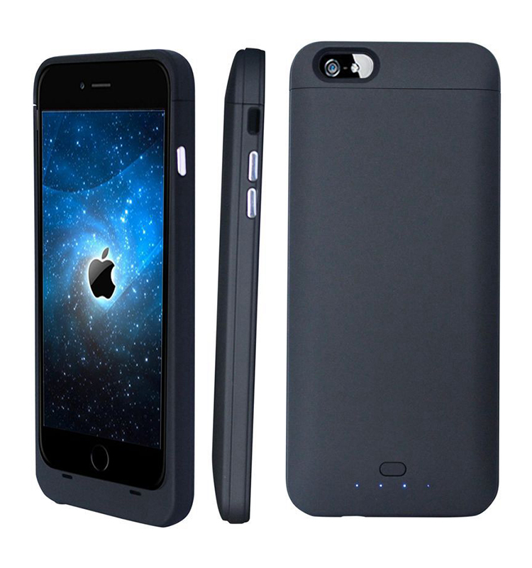 3200mAh external power battery cover for iphone 6 6s, power bank for iphone 6 6s battery case with MFI approved