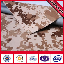 100% Polyamide Camouflage 3-layer PTFE Membrane Laminated Highly Breathable Waterproof Military Fabric