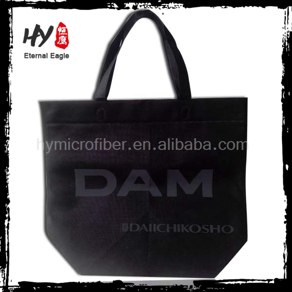 Fashion style gift non woven shopping bag With logo printed