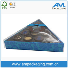 Triangle Shaped Pyramid Chocolate Packaging Wedding Acrylic Candy Box