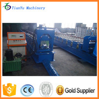metal ridge cap roofing sheet molding roll forming machine