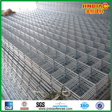 Hot Dip Galvanized after being welding welded wire fence mesh panel