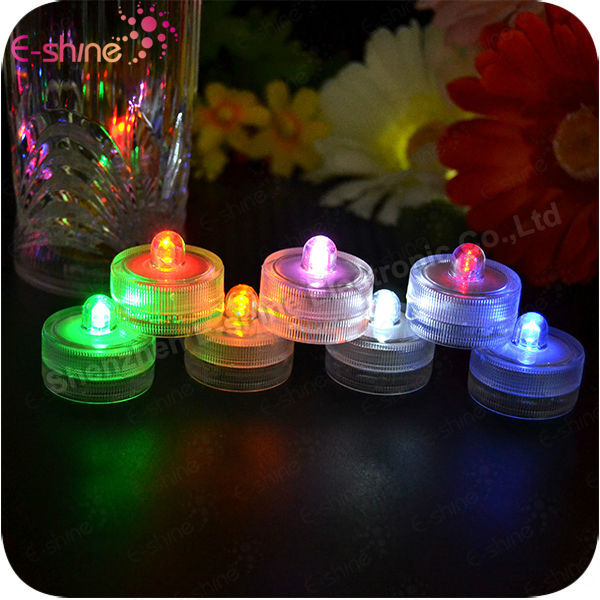 Wedding Favor Waterproof Flashing Submersible Led Lights For Wedding