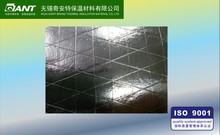 Heat sealing fsk for duct wrap/ reinforced aluminum foil facing barrier insulation