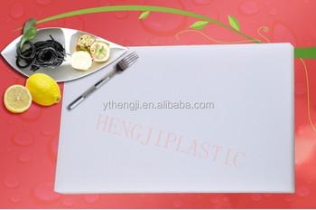 bread vegetable large plastic cutting board set with weight