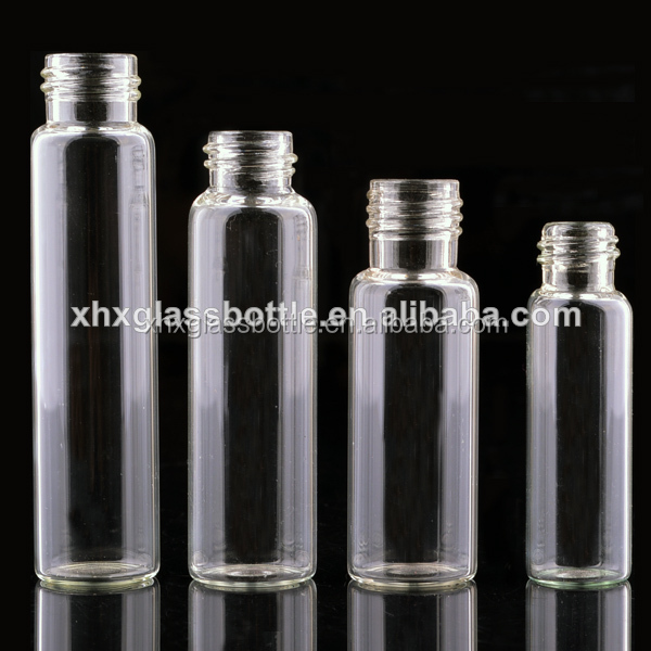 Screw Glass Tube Bottle 1Ml 5Ml 10Ml 100Ml Glass Vials With Cork