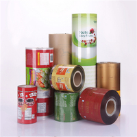 Food grade laminated material food packaging plastic film on roll /roll stock packaging