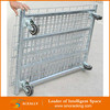 Wire mesh container Metal Foldable Cage Pallets / collapsible metal cage