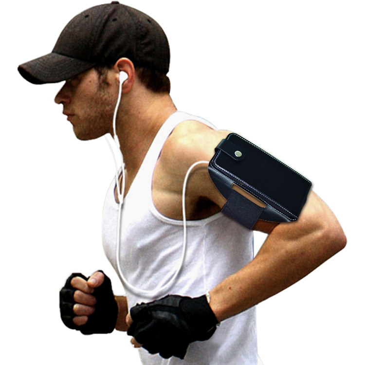 Sport gym running armband phone case for iPhone 6S with card slot
