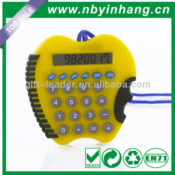 Apple shaped graphing calculator XSDC0105