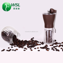2017 hot sale new design portable mini manual coffee grinder cordless coffee grinder