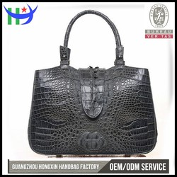 OEM 2016 latest design bags women handbag alibaba china supplier women fashion handbag crocodile skin leather lady woman handbag