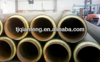 PU form hot insulation steel pipes