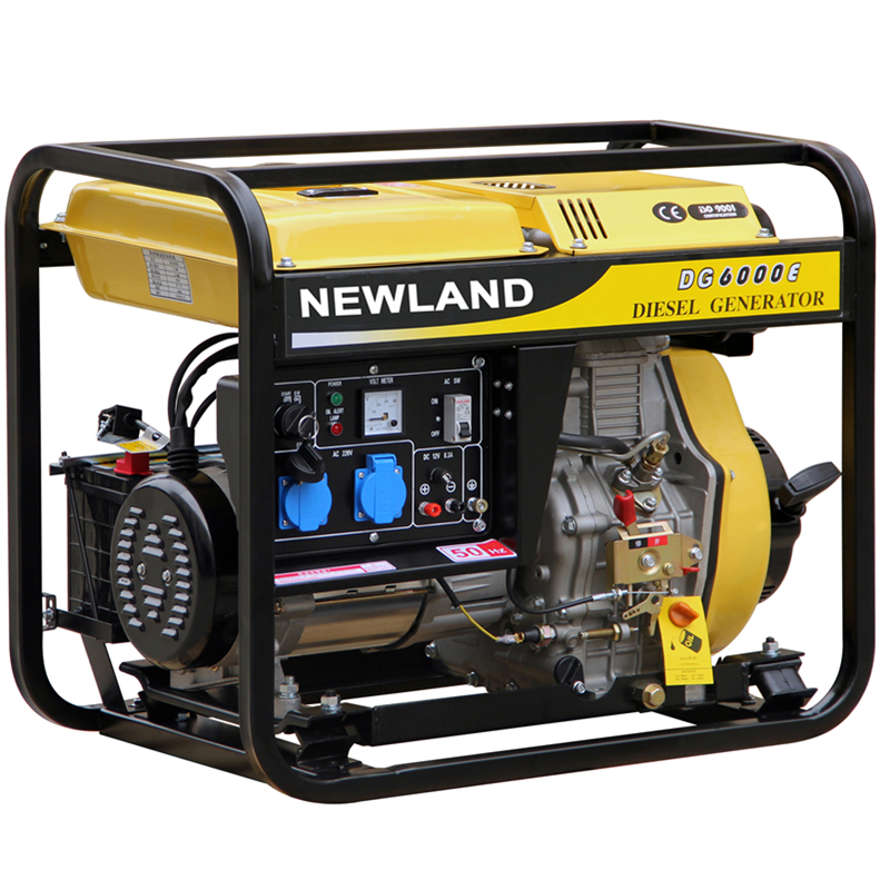 100% Copper Wire 1.8kva Electric Start Open Frame Diesel Generator with Welding Function