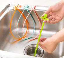 hot selling plastic cleaning tools toilet drain pipe cleaners / plastic pipe cleaner / kitchen pipe cleaner