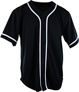Custom sublimation pinstripe baseball jersey wholesale, baseball tee shirts