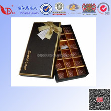 Luxury chocolate gift box for friend with custom size