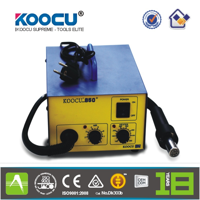 Koocu 850+ 2 in 1 SMD Hot Air Rework Soldering Iron Station
