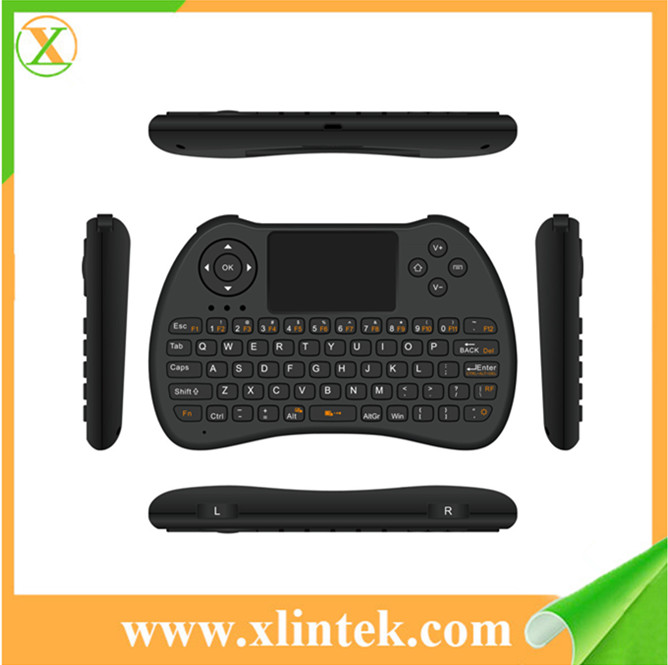 Mini Touchpad Air mouse H9 Orange Wireless Bluetooth Keyboard