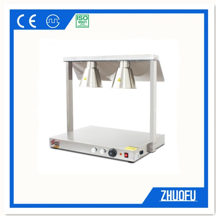 Double Head Food Warmer Heat Lamp For Restaurant