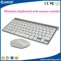 Mini 2.4G Wireless Keyboard and Optical Mouse Combo for Tablet Desktop PC
