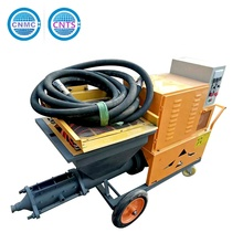 Best Selling Products in Southeast Asia Wall Cement Mortar Rendering Plaster Spray Machine By CNMC