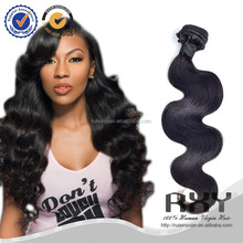Large stock and fast shipping top quality body wave 100% virgin malaysian hair