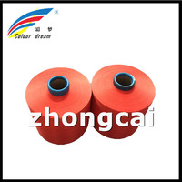 Top Selling in China Hanghzou zhongcai Dope dyed polyester yarn DTY COLOR YARN