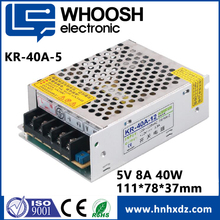 LED MODE 40W 5V 8A Switching Power Supply Waterproof