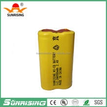 2.4v AA900 NI-CD rechargeable battery pack