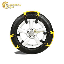 New Products High Quality plastic snow chain /Antiskid Rubber Snow Tire Chains