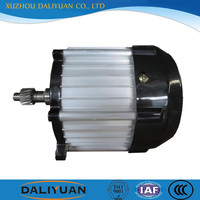 dc motor with gearbox 48v 4kw dc electric motor 500W for vehicle
