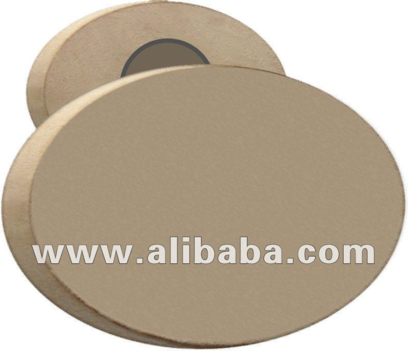 Wooden Magnets with oval Shape