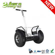 2016 Most Popular Smart 2 Wheel Stand up self balance scooter electric handle bar and hub motor Chariot