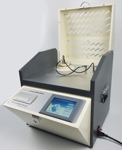 High precision and full automatic insulation oil dielectric loss and volume resistivity tester